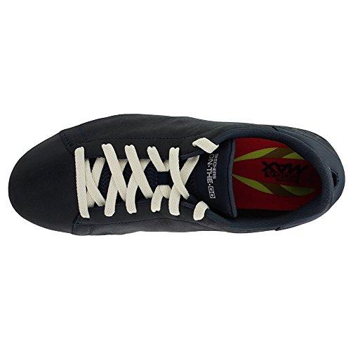 Skechers 14564 Womens Go Vulc 2 Charmed Shoe Navy Canvas