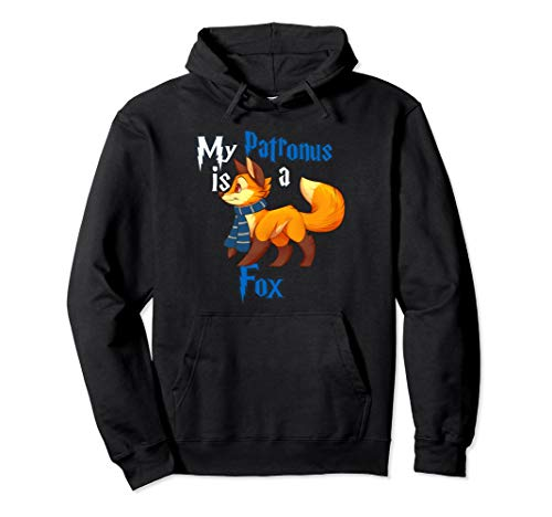 My Patronus is a Fox Pullover Hoodie - Cute and adorable Gif