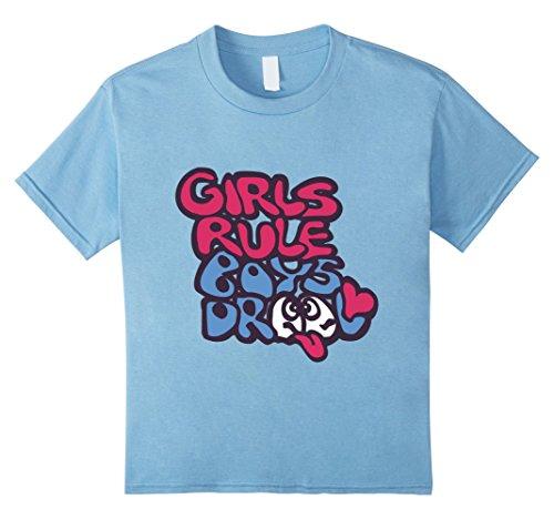 s Rule Boys Drool Cute T 8 Baby Blue ()