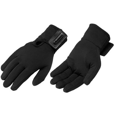 (Firstgear Warm and Safe Heated Glove Liners - Small/Medium/Black)