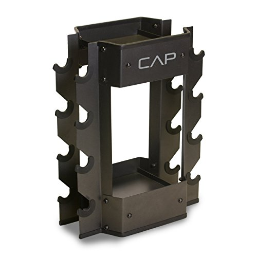 CAP Barbell Dumbbell and Kettlebell Storage Rack (Renewed)