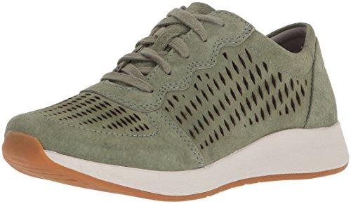 Dansko Women's Charlie Sneaker sage Suede 36 M EU (5.5-6 US)
