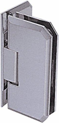 C.R. LAURENCE M0N044BN CRL Brushed Nickel Monaco 044 Series Wall Mount Offset Back Plate Hinge ()