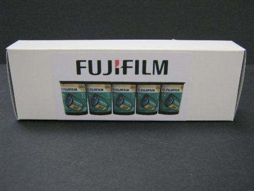 5 Roll Box Fujicolor Nexia APS 800 - 25 Exp Color Print Film Fujifilm Fuji Advanced Photo System 2010 by Fujifilm