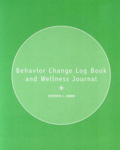 Behavior Change Logbook and Wellness Journal