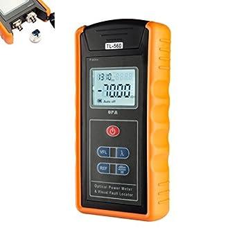 DealMux 10 kilometros -70~10 dBm Medidor de energía portátil óptico localizador visual SC