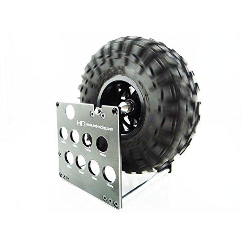 Hot Racing SDW8MU Dual System Wheel Balancer Car / Shock Stand