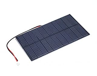 1.5W Solar Panel 81 * 137, It is Made of Single-Crystal Material That Performs High Solar Energy Transformation Efficiency at 16%, Has a Fine Resin Surface.