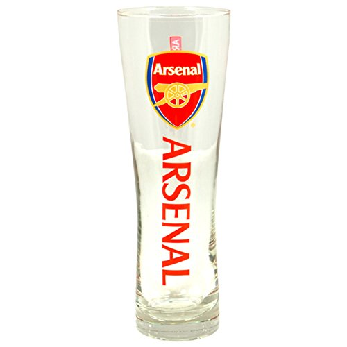 arsenal-fc-official-wordmark-soccer-crest-peroni-pint-glass-one-size-clear