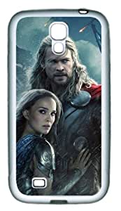 Thor 2 The Dark World TPU Rubber Material White Skin Case for Samsung Galaxy S4 I9500 Customized by Hahashopping