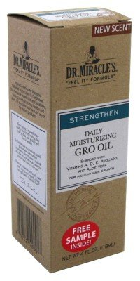 Dr. Miracles Strengthen Daily Moisturizing Gro Oil 4 oz. (Pack of 6)
