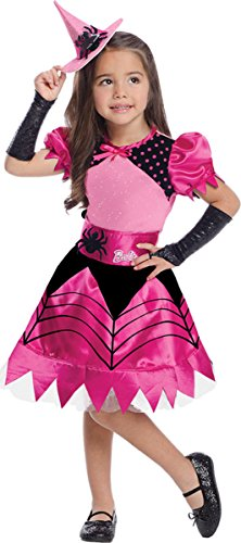 Barbie Dress Up Costumes For Adults (Rubie's Big Girl's Barbie Witch Costume Medium)