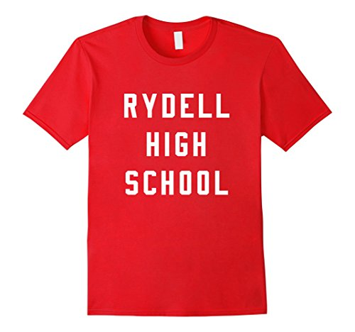 Mens Rydell High School T-shirt Medium Red