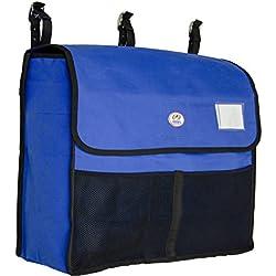 Derby Unique Winter Blanket Storage Bag with 4 Desiccants & Grooming Pockets (Royal Blue)