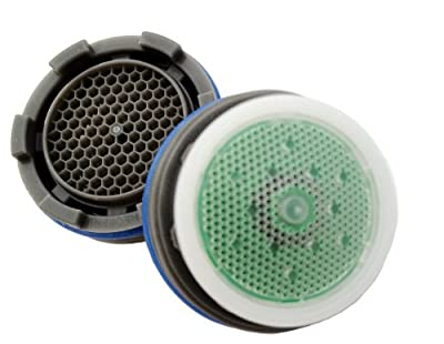 Neoperl Cache Faucet Aerator Insert with Key Perlator Aerated Stream - Low Flow Watersense