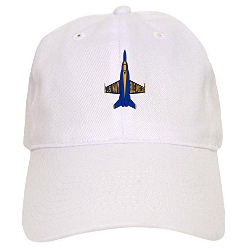 CafePress U.S. Navy Blue Angels Jet Baseball Cap with Adjustable Closure, Unique Printed Baseball Hat