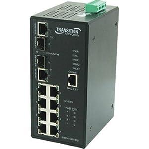 8PT INDSTRL 10/100 POE SWCH 2PT 100/1000 - SISPM1040-182D-LRT