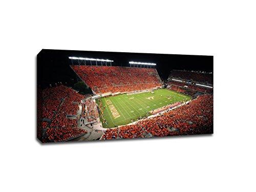 (Virginia Tech Hokies - College Football - 40x22 Gallery Wrapped Canvas Wall Art)