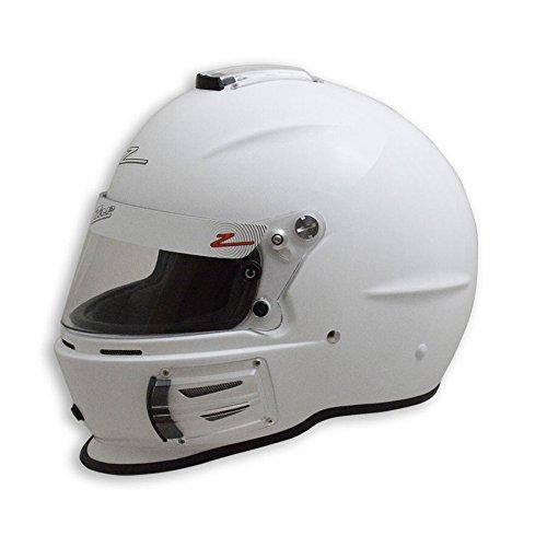 Zamp RZ-42 Kevlar Mix SNELL SA2015 Helmet White Medium
