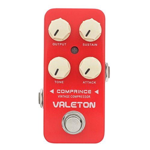 Valeton Comprince Vintage Compression Effect Pedal for Electric Guitar Analog Signal True Bypass