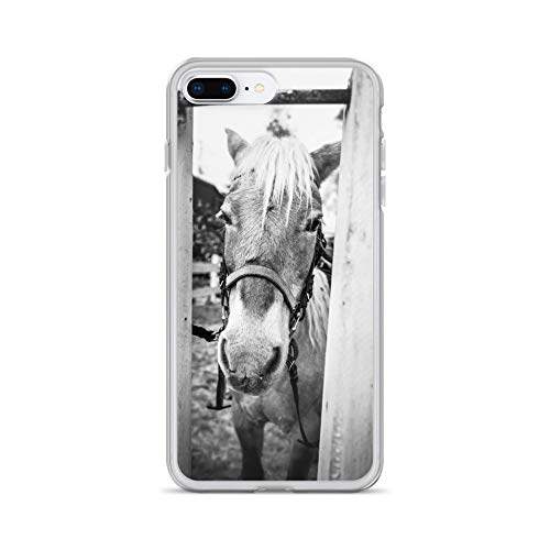 iPhone 7 Plus/8 Plus Case Anti-Scratch Creature Animal Transparent Cases Cover Through Ii Animals Fauna Crystal Clear