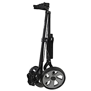 Caddymatic Golf i-Trac 2 Wheel Folding Golf Cart Black/Gray