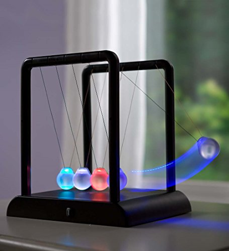 Cradle Game (LED Color-Changing Newton's Cradle Game)