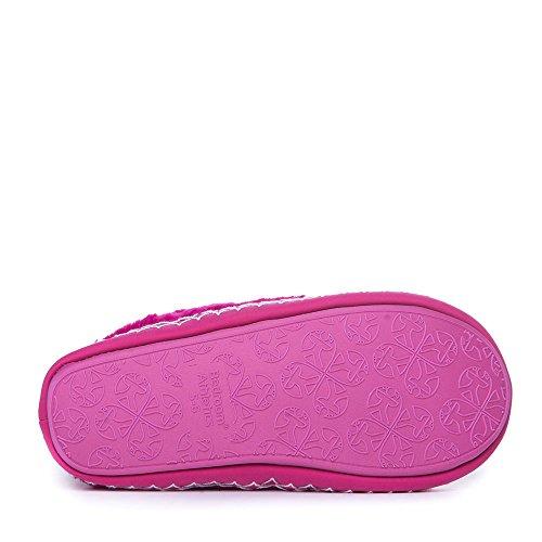 Camera da letto Athletics - Marilyn - Classic in finta pelliccia pantofole stivali - rosa acceso