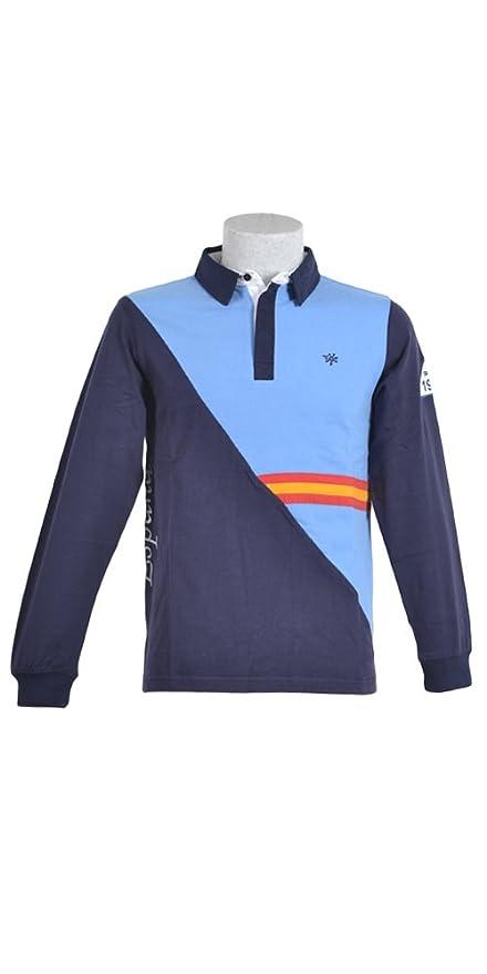 Padel Lobb - Polo estras, talla s , color azul medio: Amazon ...
