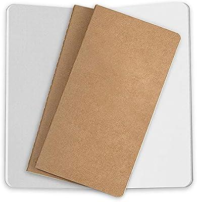 Amazon.com: Paquete de 3 recambios de papel para diario de ...