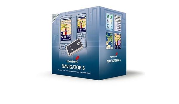 TomTom NAVIGATOR 6 - Tarjeta SD con mapas de las principales carreteras de Europa del Este (con Bluetooh y receptor de GPS) (importado): Amazon.es: ...