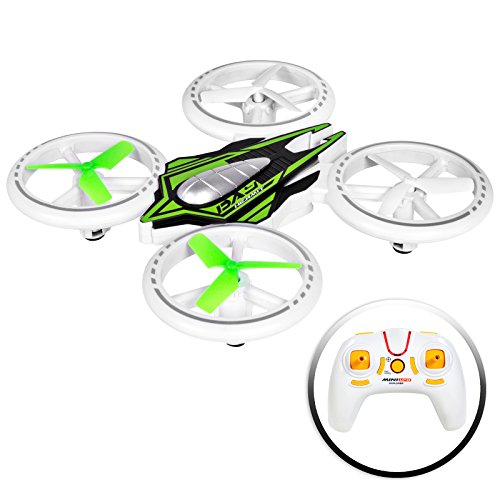 Best Choice Products 2.4GHz Remote Control Light-Up LED RC Drone Quadcopter UFO Star Ship w/ Altitude Hold -Multicolor by Best Choice Products