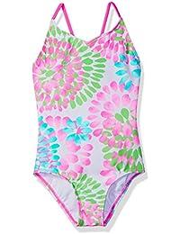 Girls' Daisy Beach Sport 1-Piece Swimsuit