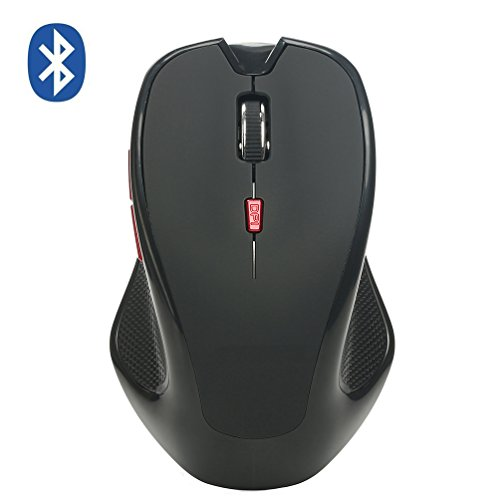 Bluetooth Mouse 2400 DPI Adjustable Bluetooth 3.0 Wireless Mouse Photoelectricity 6 Buttons PC Laptop Notebook Windows Mac OS
