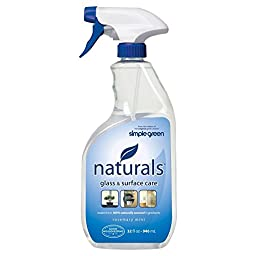Simple Green Naturals Glass and Surface Care 32 oz.(6-Case)