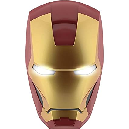 Philips Marvel lámpara de pared 3d máscara Iron Man – 3DLightFX LED Philips Iron Man Mask
