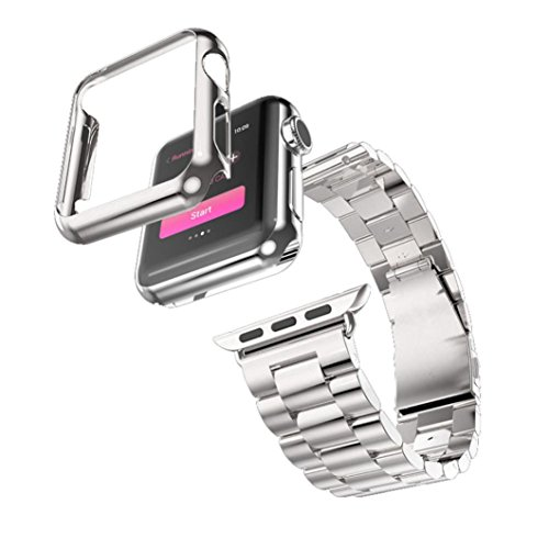 DDLBiz Stainless Adapter iWatch Sliver