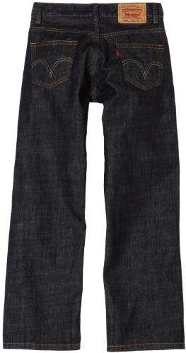 Levi's Boys' 505 Regular Fit Jeans, Armor, 16 by Levi's