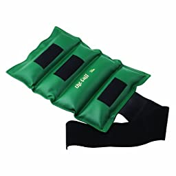 Cando 10-0219 Green Cuff Weight for Ankle or Wrist, 25 lbs