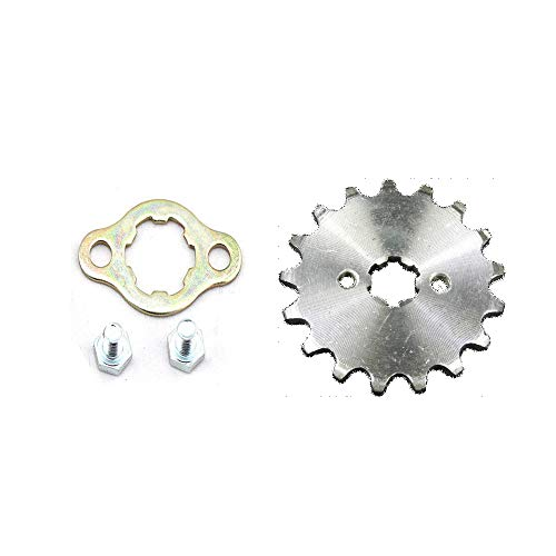 DSparts 18T Teeth 17mm 428 Chain Front Sprocket Cog Gear Fit 50cc 70cc 90cc 110cc 125cc 140cc 150cc 160cc Engine ATV Quad Pit Dirt Trail Bike