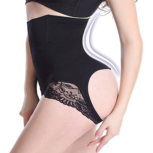 3e84118c1 Women s Butt Lifter Shaper Seamless Tummy Control Hi-waist Thigh Slimmer