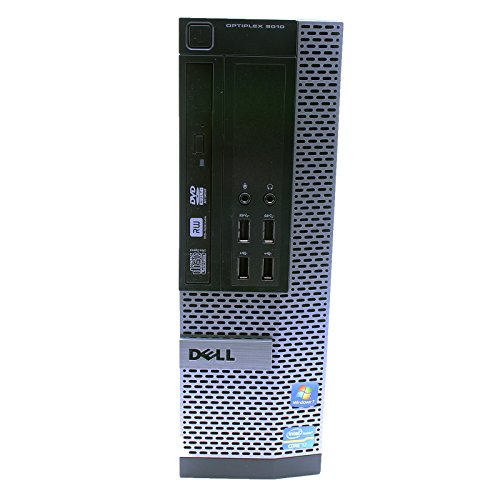 Dell Optiplex 9010 SFF Desktop PC – Intel Core i5-3470 3.2GHz 16GB RAM 240GB SSD DVD Windows 10 Pro, WIFI (Certified Refurbished)