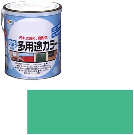 アサヒペン 水性多用途カラー 1.6L コバルトグリーン