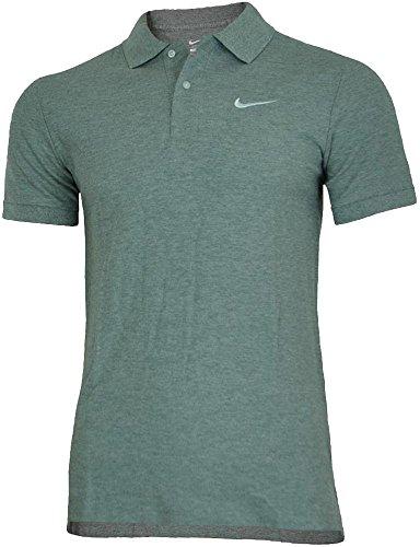 (Nike Classic Polo Men's Sport Fitness Cotton Shirt Poloshirt Gray,)