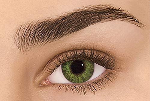 Women's multi-color cute charm and attractive color eye enhancer multi-color shadow, the most natural eye color change (Gemstone green)