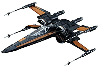 Bandai Hobby Star Wars 1/72 Poe's X-Wing Fighter The Force Awakens Building Kit