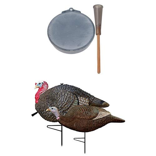 Primos Ol' Betsy Slate Call and Gobstopper Jake & Hen Decoy Combo by Primos Hunting
