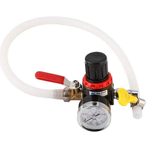 Sistema de enfriamiento del automóvil Probador del radiador Probador de presión de Fugas Camión del Coche Detector del...