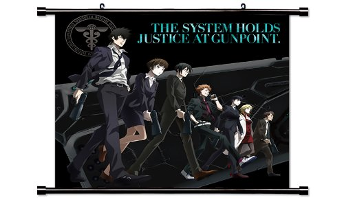 PSYCHO-PASS Anime Fabric Wall Scroll Poster  Inches