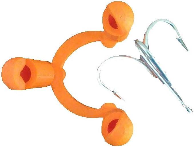 20pcs Fishing Treble Hooks Protector Safety Holder Cover Bonnets Caps YI